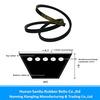 high transverse stiffness and transmission power narrow v belt