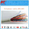 25 cabo de telefone par par torção multi core cat6 cabo par multi interior 0.5mm rj11 modular cabo telefônico de cobre código de cor