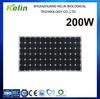 Photovoltaic solar panel 200 watt mono for home use