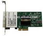 PCI Express optical network card gigabit ethernet server card,4 sfp port