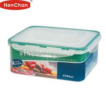 2300ml houseware plastic food container