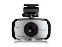 Hot sale 3.0inch GPS G-sensor dual lens HD 1296p car dvr black box