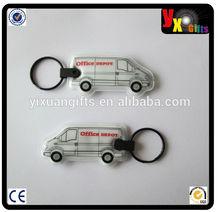minion dave costume/bottle opener blanks/ Led pvc keychain