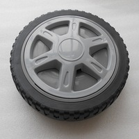 8 inch small plastic toy wheel /plastic wheel
