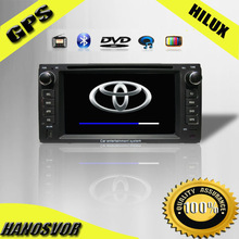 HANOSVOR Factory Directly Sale Toyota Universal Car GPS DVD Player with Radio Audio USB SD iPod for Camry/Corolla/Vios etc.