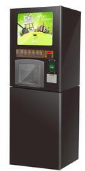 17inch LCD advertisement screen coffee hot chocolate/coffee/latte vending machineLF-306D-17G