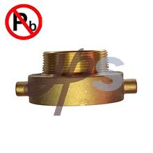 low lead brass fire adapter
