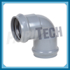Plastic UPVC Socket Elbow 90 Degree with Rubber Ring for Water