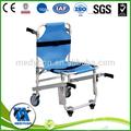 De la escalera ajustable silla de elevación, camilla de ambulancia de la carretilla