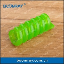 Boomray 2 pcs curly and colorful TPU cable clip spring clip button