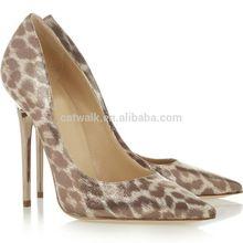 CATWALK-S500208-1 stiletto heel ladies designer high heels/wholesale stiletto/ladies pointed heels leaoprad upper+rubber