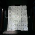 0.7mm anti-static vac tray White PP plastic blister tray japan standard