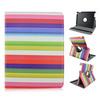 Rainbow Rotate Flip PU Tablet Leather Case For Apple iPad 2 3 4, ipad air, ipad mini