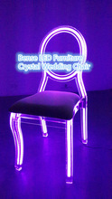 party rental furniture LED lighting party chair light up chairs