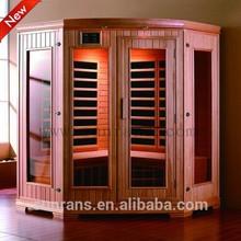 SR128 High Quality Outdoor Sauna Far Infrared Sauna House
