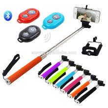 Monopod Selfie Stick Telescopic & Bluetooth Wireless Remote Mobile Phone Holder
