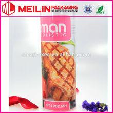 plastic transparent cyliner tube food box pvc tubes pet tube