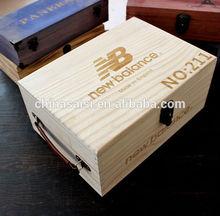 classical design wooden shoe box wholesale hot sale
