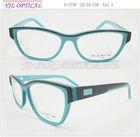 2014 latest acetate frames design eyewear optical frame