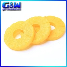 Flavor Artificial Orange Slices for Decorate House Birthday Party- Factory-direct Plastic Fake Food