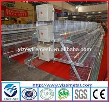 Fazenda de galinha equipamentos/gaiolas em bateria galinhas poedeiras/animal beber sistema