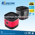 bluetooth mini altavoz con 720p hd cámara ocultainalámbrica dvr de grabación