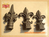 Ornamental high quality wrought iron fence spearhead