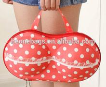 Eco Friendly Lace EVA Underwear Bra Storage Zip Lock Underwear Hand Bag Girl Needed