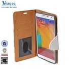 Veaqee china factory mobile phone leather cases for samsung galaxy note 4