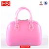 2014 Hot Sales Shell Shape Women Silicone Jelly Shoulder Bag Handbag Sac a main