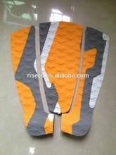 New design deck pads surfboard foot pads with eva foam 3M glue deck pad