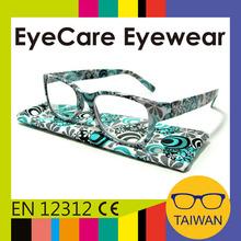 New design stylish spectacles plastic frame ready reading glasses