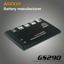 Wholesale manufavcturer mobile phone 1400mah li-ion battery for GS290