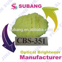 Abrilhantador ótico para laca/sabão/tinta de impressão cbs-x 351