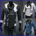 2014 nueva moda custom design plus tamaño de hombre de los deportes de la chaqueta con capucha venta al por mayor