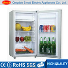 Hotel or home style single door minibar with ice box