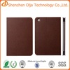 Clear cover case for ipad mini,for ipad 3 leather case,for ipad 4 case made in China
