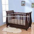 de madeira do bebê berço cama de criança