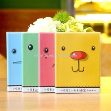 Students cartoon Korea stationery pouches this portable notebook