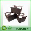 Home Decoration Storage Box with PU lid