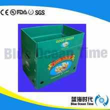 Screen Printing Plastic Corrugated Box/Corflute Box/Coroplast Box Manufacturer