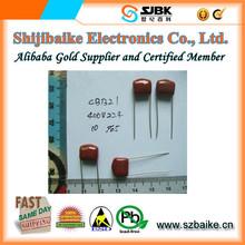 CBB21 224/400V 0.22uF Metallized Polypropylene Film Capacitors