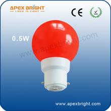 B22/E27 0.5w led bulb inspire lighting xiamen