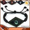 Wholesale jewelry fashion bracelet 2014 woven bracelets leather evil eye bracelet