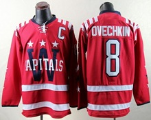 Alexander Ovechkin Washington Capitals Winter Classic Ice Hockey Jersey