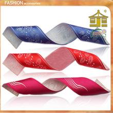 wide cheap high quality wedding clothing printed professional silk ribbon/printed satin ribbon