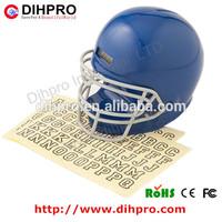 2014 hotsale American football helmet money container