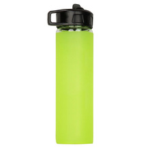 silicone bottle cover,shockproof silicone cover for sports bottle,insulated cover