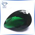 Corte de pera de cristal verde piedra/mejor- venta de piedras preciosas
