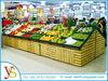 supermarket vegetable and fruit display shelf manufacturer in China
